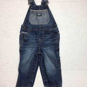 OshKosh B'gosh | boy's toddler overalls size 18 M